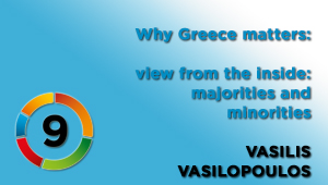 View from the inside: majorities and minorities, Vasilis Vasilopoulos, Head of Digital News, ERT