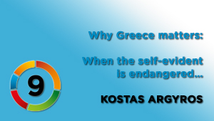 When the self-evident is endangered…, Kostas Argyros, journalist & producer, NET TV