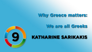 We are all Greeks, Univ.Prof.in Dr.in Katharine Sarikakis, University of Vienna