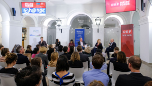 DialogForum: »How to change the world«, in cooperation with Webster Vienna Private University